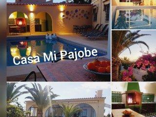 Ruime alleenstaande villa met privézwembad + buitenkeuken dicht bij Benidorm