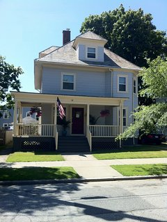 American Foursquare - 3 stories and a porch - renovated in 2012