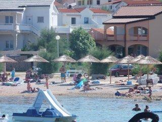 Villa Marilona  Appartement A1 -8 Per. 90m zum Meer Insel Vir Kroatien 113€/Tag