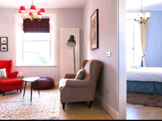 New! Winter intro prices! Lovely Triangle Loft- New Town area