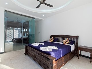 5bhk Self Catered Luxury Goa Vacation Holiday Home with a Private Swimming Pool