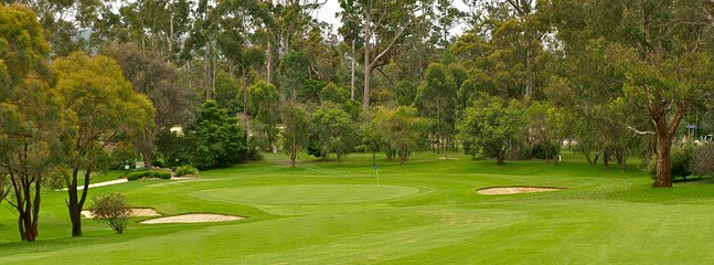 2kms to Woolooware and Cronulla golf course