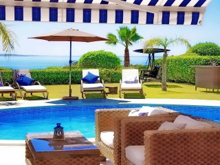 Tequila Sunrise Beach Villa -  Luxury Sea Front Bungalow Villa With Private Pool