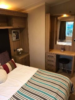 Luxury 6 Berth Caravan on the Jet Ski Lake