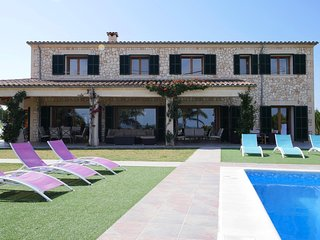 6 bedroom Villa in Petra, Balearic Islands, Spain : ref 5512656