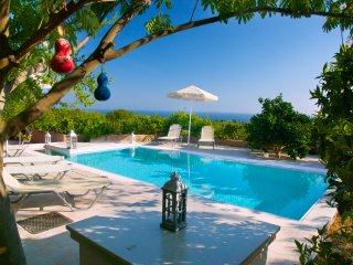 Liogerma Kefalonia,sleeps 2-8+. swimming pool,6free bikes,Wi-Fi,A/C,BBQ, & more