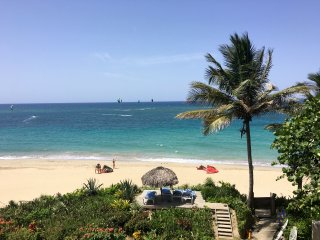 Beach front condo