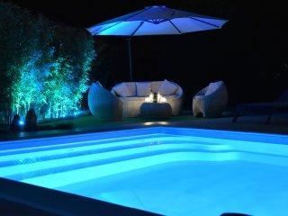 Villa Katia-piscine chauffée location en dimanche