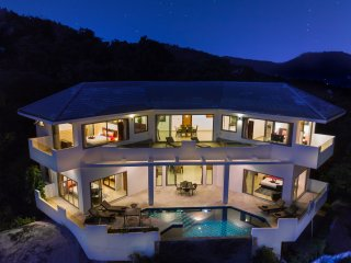 Amazing sea view 5 bedroom villa in Lamai