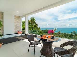Executive Sea View apartment with jacuzzi