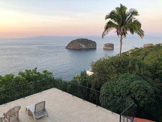 Casa con vista al oceano