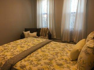 Contemporary & Comfortable Bedroom (Shared Bath)