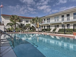 NEW-Cape Canaveral Studio w/Pool Access-Near Beach