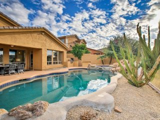 NEW! 4BR Scottsdale Home w/ Pool, Spa & Mtn. Views