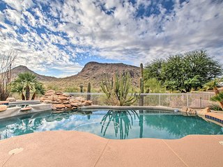 4BR Scottsdale Home w/Pool, Spa, Fire Pit & Views!