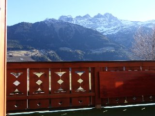 Spacious appartment with amazing views of the Dents du Midi