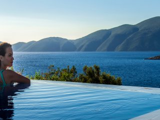 Private villa with 2 swimming pools for up to 16 guests