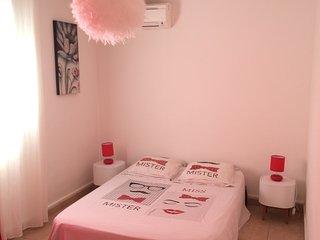 Joli bas de villa privé (chambre séjour salle de bain)
