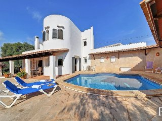 3 bedroom Villa in Portopetro, Balearic Islands, Spain : ref 5433542