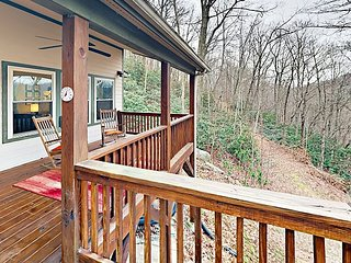 Mountain-View 1BR w/ Large Porch, Near Downtown Asheville & Black Mountain