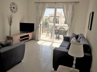 Modern and spacious lounge