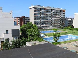 Apartamento con piscina a 5 min. de la playa