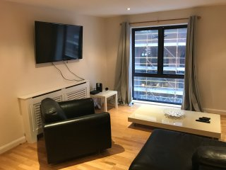 City Centre, large two bedroom apartment. Free Wifi and parking