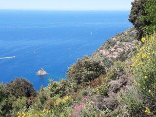 Casa Gialla di Acquasanta: visit 5 Terre, Portovenere, trekking, the se
