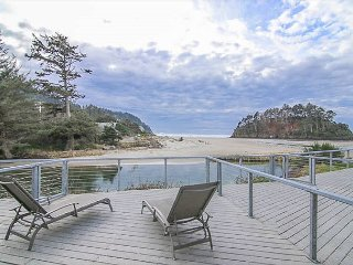 Enjoy a luxury, oceanfront townhome