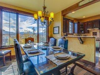 Luxury mountain retreat with four king-size master suites!