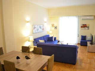 PEDION AREOS PARK 6 - Athens Center - 4 bedr. Apt. 30m from the Metro