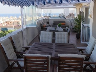 Penthouse 170 m2 view on the sea and the town of Estepona - Andalucia - Spain