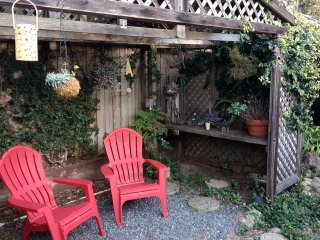 Squirrel's Cottage, Charming Remodeled Single Level, Hotsprings hot tub!
