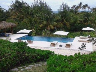 Private 10-Acre Beachfront Estate w/Heated Pool, Tennis Court, Walk to Tippys