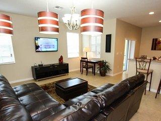 2616SC. Stunning New 5 Bedroom 4 Bathroom Pool Home in Veranda Palms