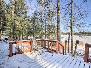 NEW! 2BR Westfield Cabin on Spring-Fed Lake w/Dock