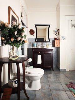 Full bathroom with shower & bath