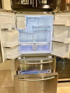 Full Size Refrigerator with Ice Maker