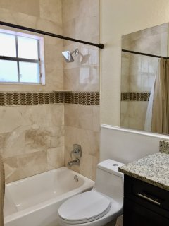 Full Size Guest Bathroom with Tub