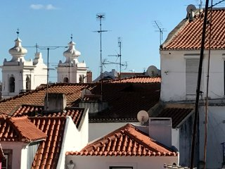Very quiet and sunny with stunning views over Alfama