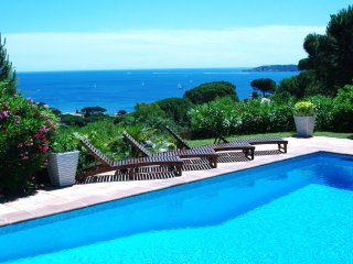 Villa Zen, beautiful Spa and Pool with amizing view on Saint Tropez Gulf