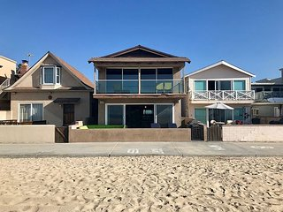 Large 2 Story Oceanfront Home on the Boardwalk - Patio & Balcony, BBQ (68197)