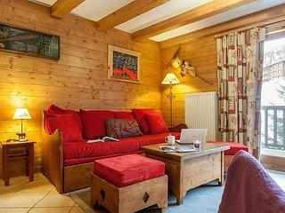Superior 3 BR Apartment for 8 at Les Alpages de Chantel, Arc 1800