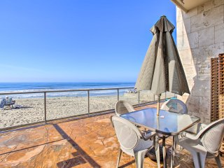NEW! Beachfront Studio - Walk to Carlsbad Village!