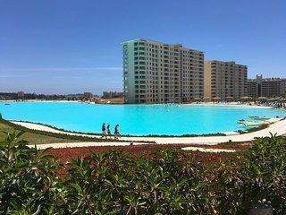 Vacaciones familiares en Departamento Laguna Bahia