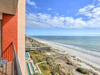 Cozy 1BR Myrtle Beach Resort Style Condo w/Balcony