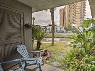 NEW! Central 1BR Panama City Beach Condo w/ Pool!