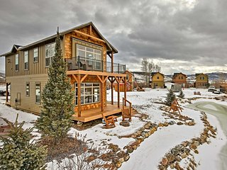 Brand New 3BR Granby Cabin on Pond w/ Mtn Views!