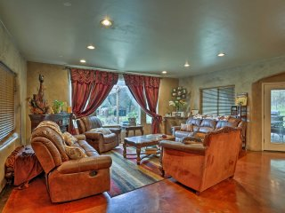 NEW! Beautiful 4BR Redding Home on 8 Private Acres