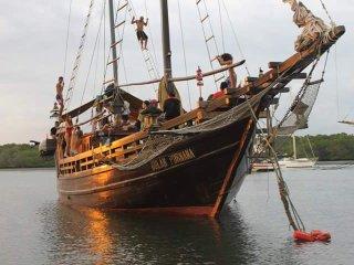 Sunnys Pirate Boat